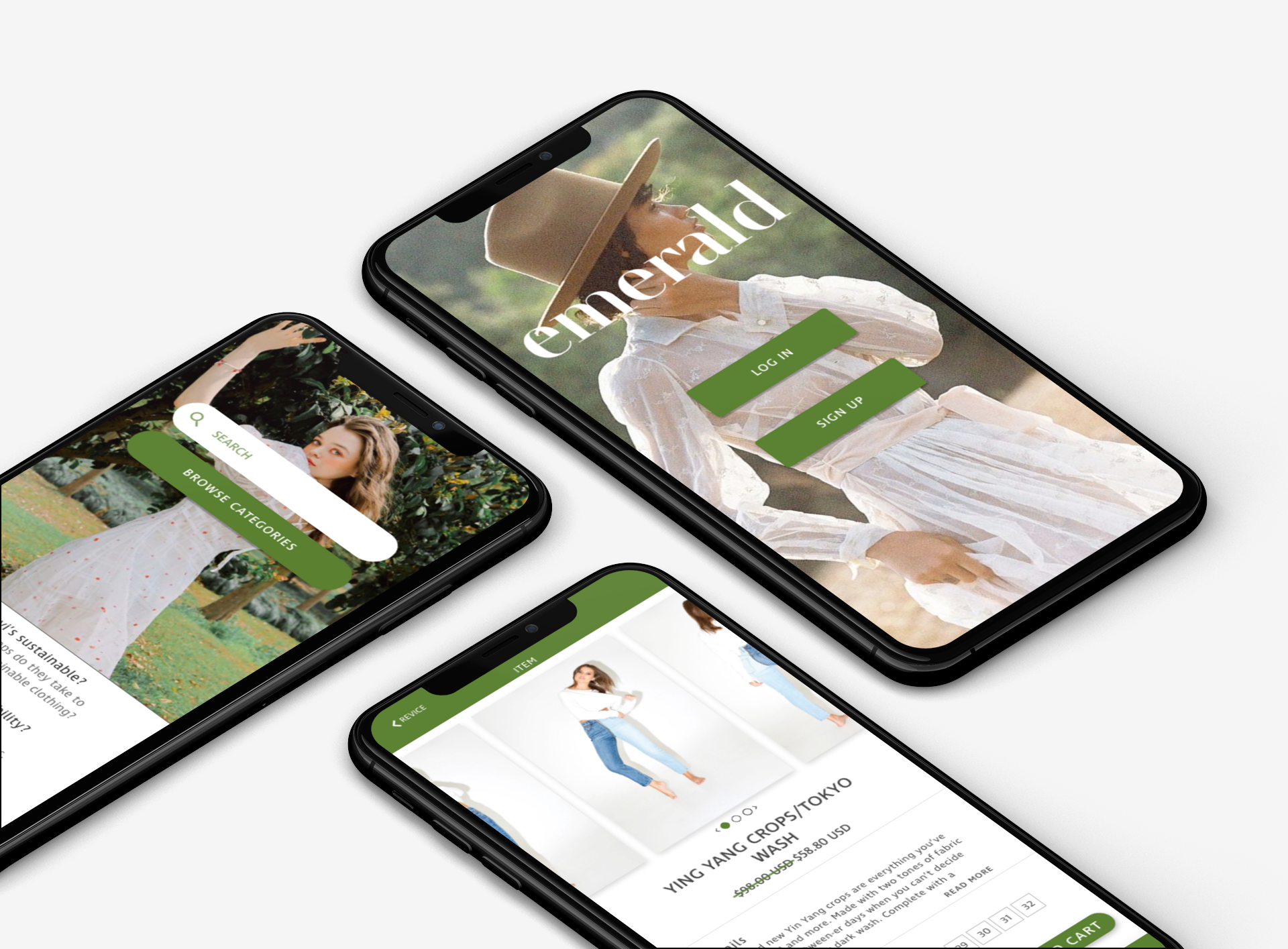 Emerald Sustainable Shopping App